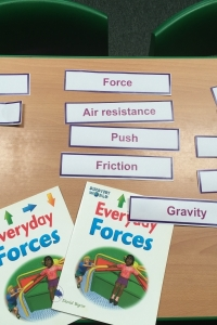 forces vocabulary